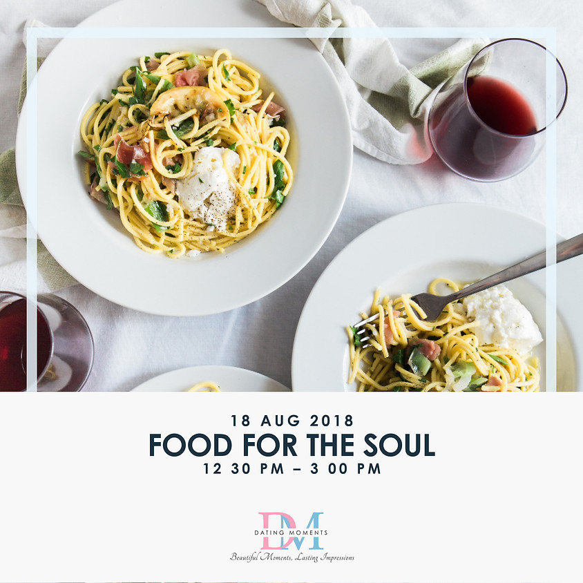 Food for the Soul (Looking for more ladies, last 2 slots for gentlemen!) (1)