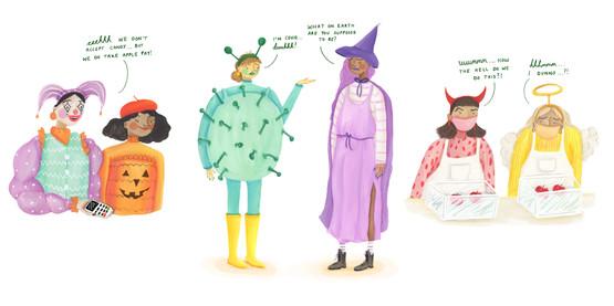 Halloween in 2020