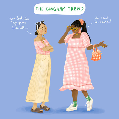 The Gingham Trend