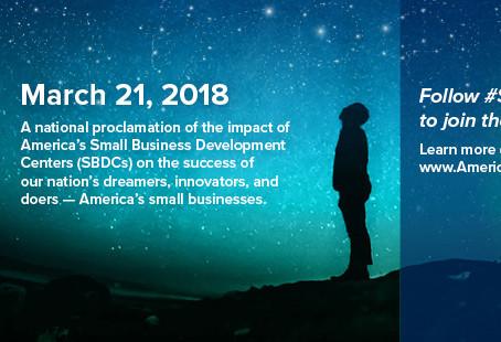 Celebrating America's SBDC Day!