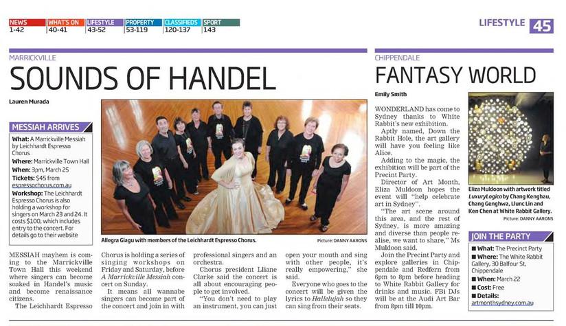 Sounds of Handel