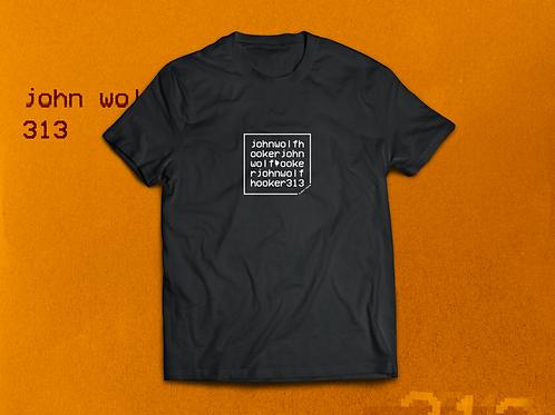 313 T-Shirt Black