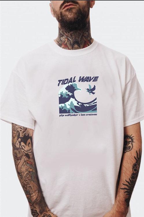 Tidal Wave T-Shirt White (PRE-ORDER)