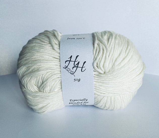 Handy with a Hook Yarn - White