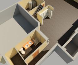 3D Model Aerial View