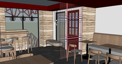 Dining Area Concept Design Side View