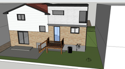 Rear Rendering with Deck