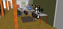 Office Area Front View