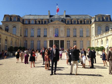 Le Président de la République reçoit les Meilleurs Ouvriers de France 2015.