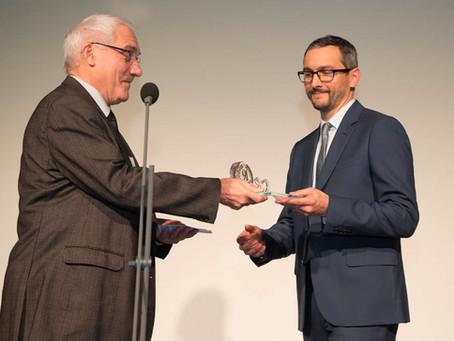 Arnaud Magnin, lauréat des 91 d'Or 2016