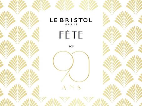 La Table 25 s'invite au Bristol Paris.