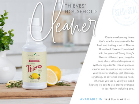 WHY YOU NEED THIEVES HOUSEHOLD CLEANER!