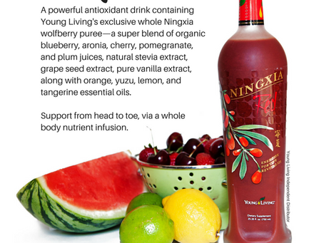 NingXia Red the BEST Antioxidant Drink!