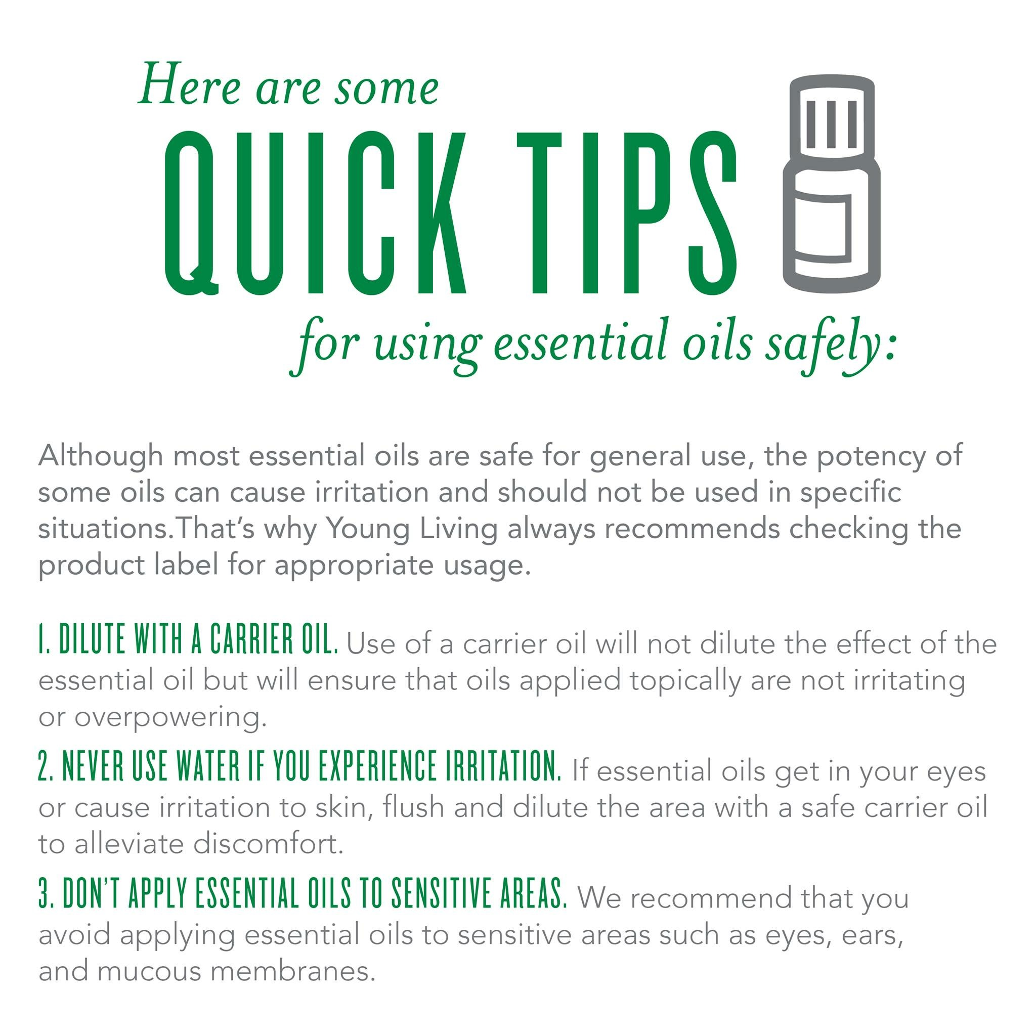 Quick Tips from Young Living