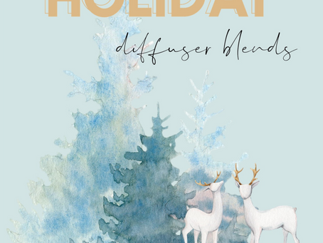 50 HOLIDAY DIFFUSER BLENDS!