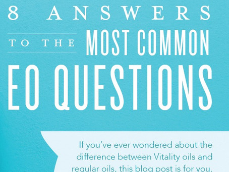 8 Common Essential Oil Questions