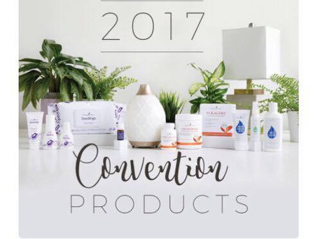 YOUNG LIVING NEW 2017 PRODUCTS!