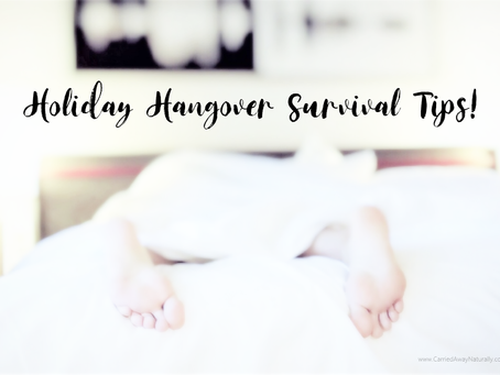 Tips for Surviving the Holiday Hangover!