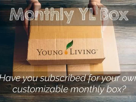 Young Living's has an AMAZING Monthly Subscription Box!