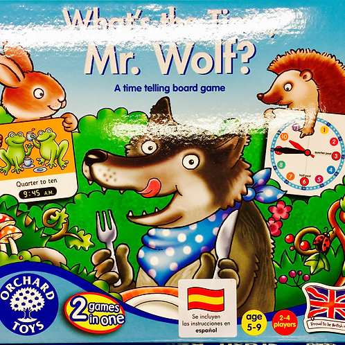 What's the time Mr. Wolf?