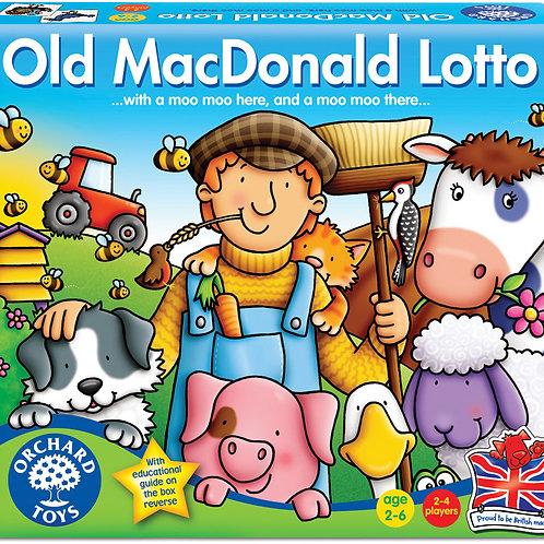 Old MacDonald Bingo