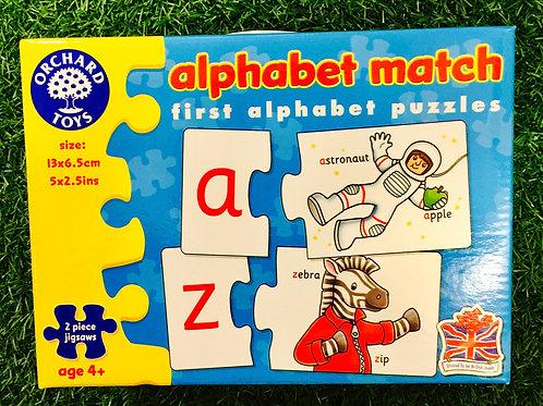First Alphabet Puzzle