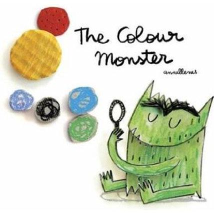 The Colour Monster tapa blanda