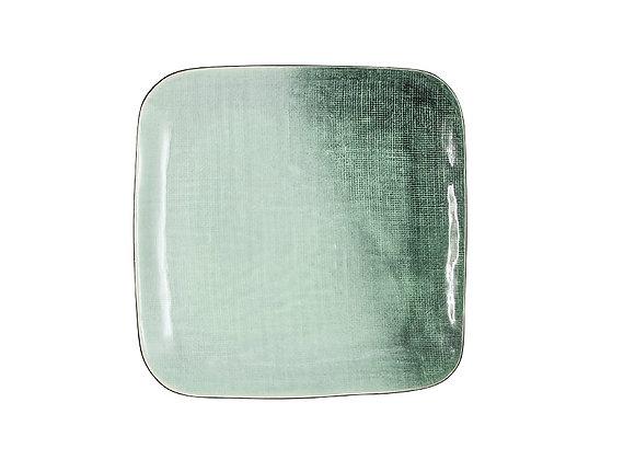 Тарелка закусочная Холст, квадратная