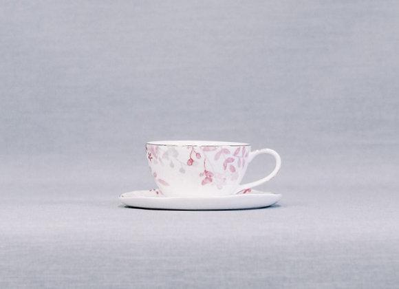 Чашка с блюдцем  Paradise