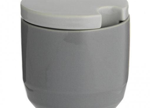 Сахарница Cafe Concept D 8,5 см серая