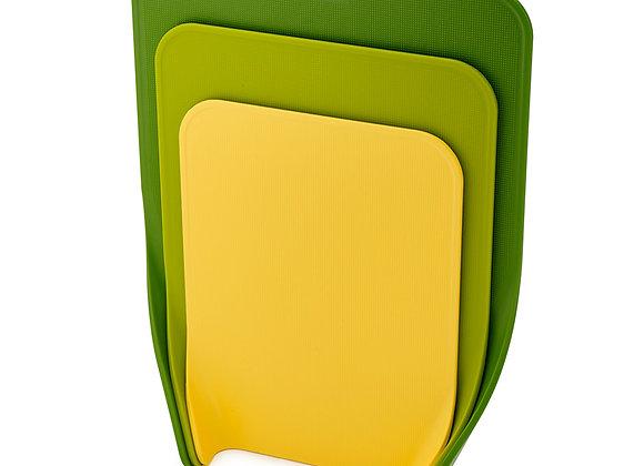 Набор из 3 разделочных досок Nest Зелёный