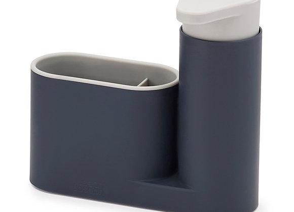 Органайзер с дозатором для мыла SinkBase серый