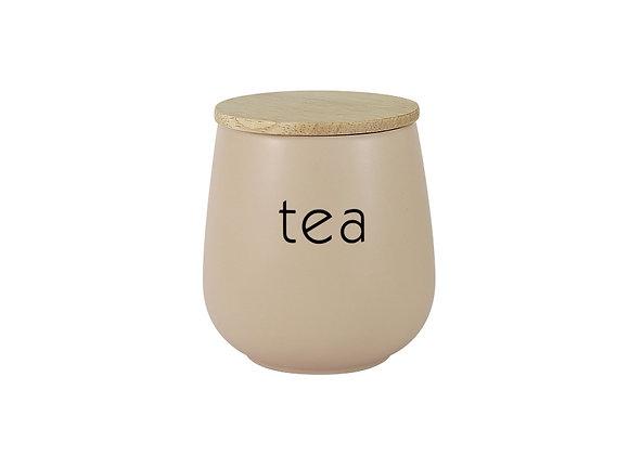 """Банка для сыпучих продуктов """"Tea"""" 0.65л"""