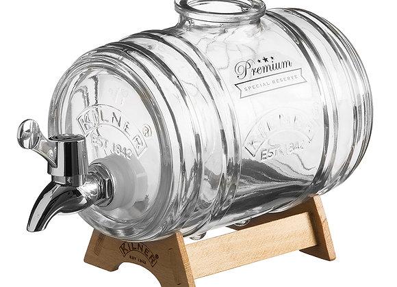 Ёмкость с краном Kilner Barrel на подставке 1 л