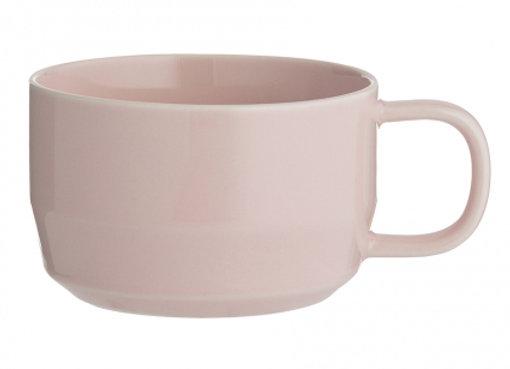 Чашка для капучино Cafe Concept 400 мл розовая