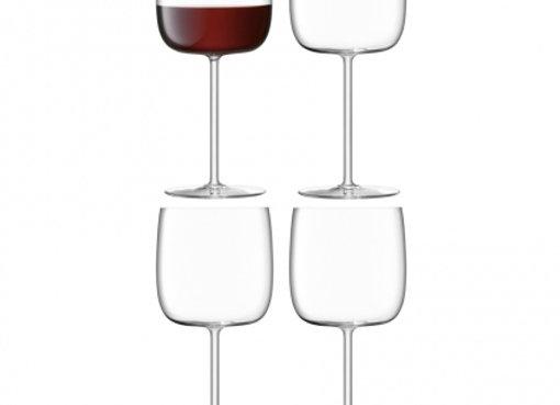 Набор из 4 бокалов для вина Borough 450 мл