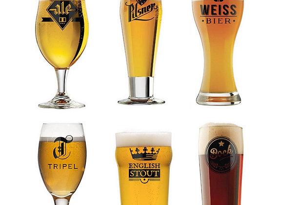 Набор пивных бокалов l'Hedoniste 6 шт.