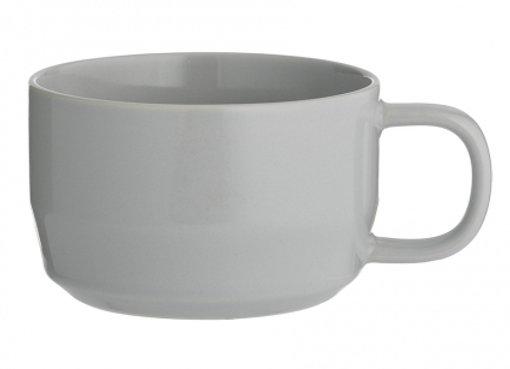 Чашка для капучино Cafe Concept 400 мл серая