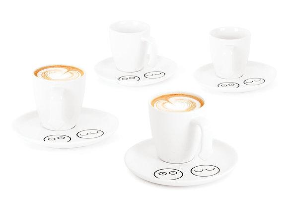Набор чашек для кофе Caffe In 100мл 4шт.