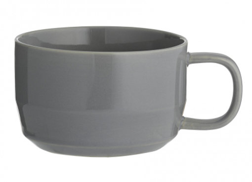 Чашка для капучино Cafe Concept 400 мл темно-серая