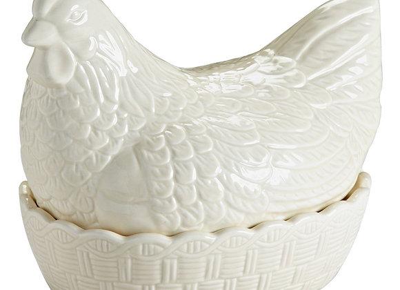 Подставка для яиц Hen кремовая