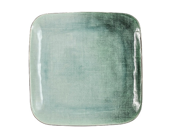 Тарелка обеденная Холст, квадратная