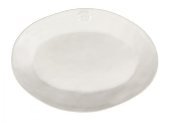 Блюдо овальное 40х28 Nova, White