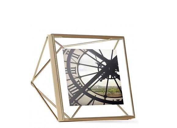 Фоторамка Prisma - квадратная золотистая