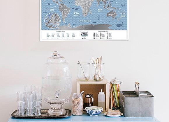 Карта Travel Weekend World