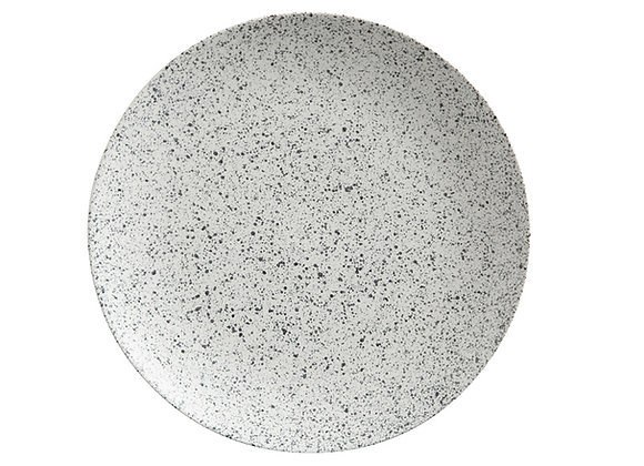 Тарелка обеденная Stone - пепел