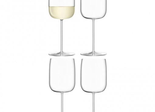 Набор из 4 бокалов для вина Borough 380 мл