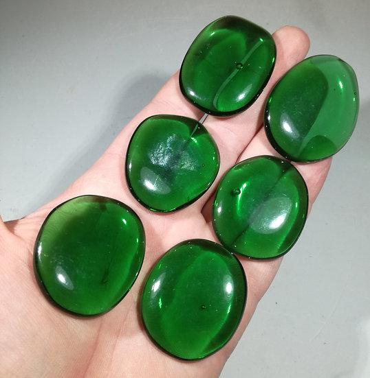 Green Obsidian Palmstone 40-45mm