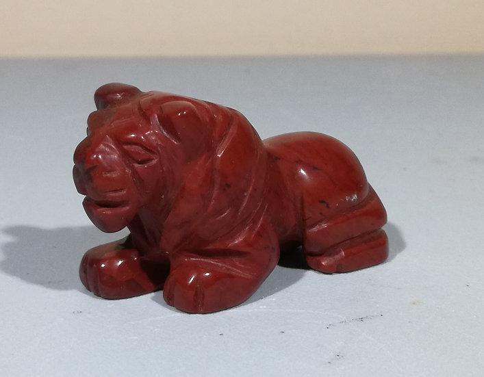 Red Jasper Lion