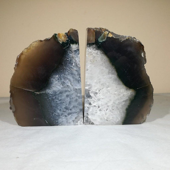 Grey Agate Bookend 2.1kg